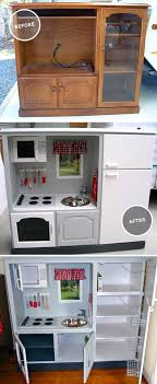 play kitchen from furniture turn an cabinet into a kid s diner diners s and