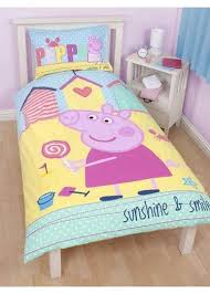 Peppa Pig Single Duvet Set Peppa Pig Single Duvet Seaside Peppa And George Bedding