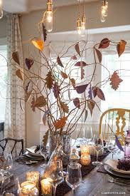 diy thankful tree for your thanksgiving centerpiece