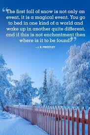 Where Is Winter 18 Absolutely Beautiful Winter Quotes About Snow