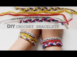 easy bracelet tutorials images Diy 3 easy crochet friendship bracelet tutorials jpg