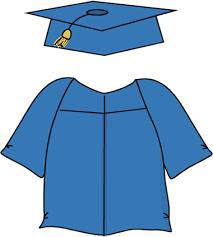 graduation toga graduation cap and gown clipart kid 2 clipartbarn