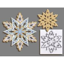 r and m international giant 7 5 inch snowflake cookie cutter with