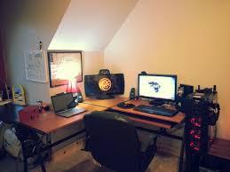 l shaped desk gaming setup best of big gaming desk desk design ideas desk design ideas