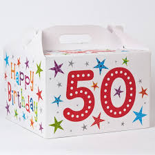 birthday balloons in a box 50th birthday balloon gift box only 1 59