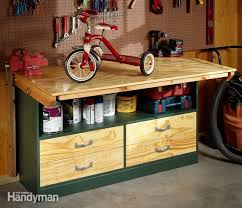 Woodworking Bench Top Material by Garage Workbench With Also A Best Garage Workbench With Also A