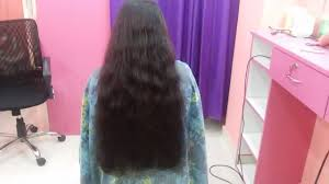 straight cut for long hair at home hair style at home timesnow
