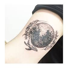 surreal moon tattoo http www tattooideas1 org placement arm
