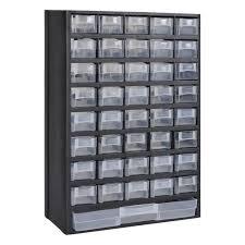 41 Tiroirs Armoire Module Casier De Rangement En Plastique 31 X Casier Rangement Bureau