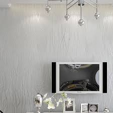 homdox wallpapers modern non woven embossed flocking antistatic