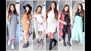 Clothes To Hide Pregnancy For Pregnancy Without Buying Maternity Clothes Youtube