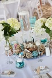 beachy centerpieces theme wedding centerpieces center pieces