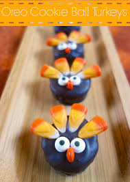 thanksgiving oreo turkey cookies recipe oreo cookie ball turkeys plain chicken