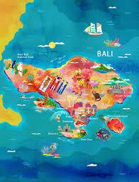 bali indonesia map garuda indonesia maps on behance illustration painting