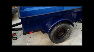 bantam jeep trailer bantam t3 c retoration completed youtube