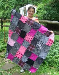 can make a rag quilt a rag quilt learn how to make a