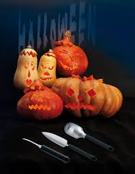 la cuisine d am駘ie triangle pumpkin carving tool 3 set utensils cooking