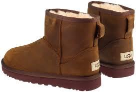 womens ugg boots chestnut ugg boots womens mini ii chestnut leather landau store