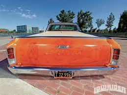 el camino orange 1966 chevrolet el camino lowrider magazine