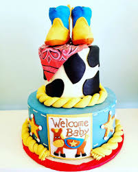 cowboy western baby shower cake cakes by sweet grace anna u0027s