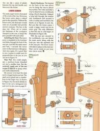 2256 bench vise plans workshop solutions 목공예 pinterest