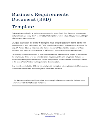 brd business requirements document template 100 images 40