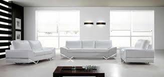 White Leather Sleeper Sofa Vanity White Leather Modern Contemporary Sofa Set