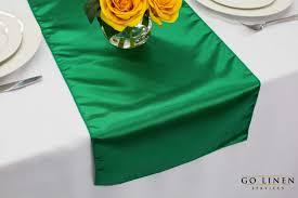 emerald green table runners emerald green satin table runner zhen linen