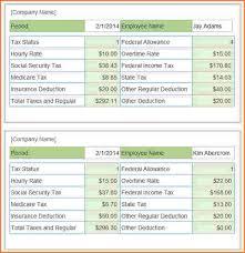 9 salary pay stub template sales slip template