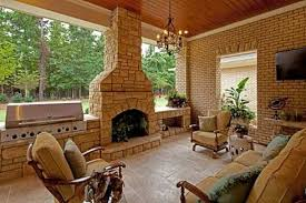 interesting covered patio with outdoor fireplace ideas family room