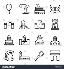 history icons set set 16 history stock vector 653945428 shutterstock