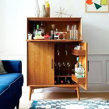 Large Bar Cabinet Mid Century Bar Cabinet West Elm Bar Cabinet Large Creepingthyme