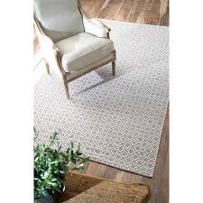 nuloom handmade flatweave moroccan trellis cotton rug 5 u0027 x 8