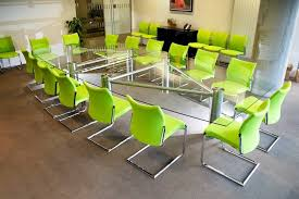 Large Conference Table Experience The Glorified Elegance Of Glass Conference Tables