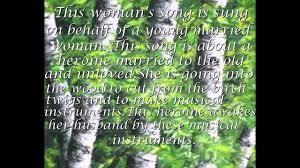 russian folk song in the meadow stood a birch tree