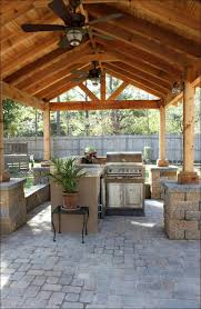 Outdoor Kitchen Lighting Ideas Kitchen Small Outdoor Kitchen Built In Grill Island Built In