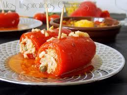 comment cuisiner les poivrons rouges roulés de poivron au thon le cuisine de samar