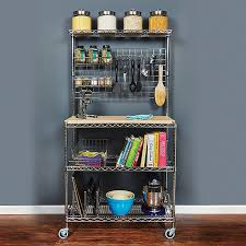 Kitchen Cart Islands by Rolling Kitchen Carts Islands And Storage Racks Storables