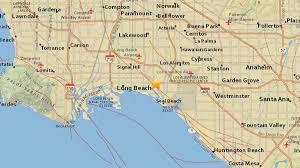 Earthquake Map Los Angeles by 2 7 Magnitude Quake Shakes Seal Beach Area Nbc Southern California