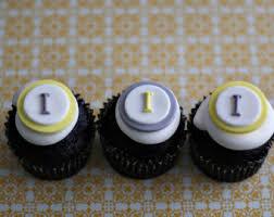 monogram cupcake toppers monogram cupcake topper etsy