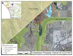 San Diego County Assessor Maps by Land Acquisition Buena Vista Audubon