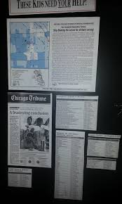 Chicago Tribune Crime Map by Mapping For Justice May 2016