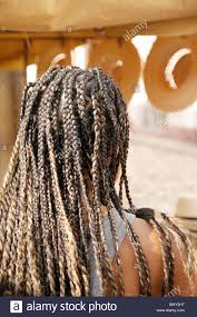 A Young Woman With Braided Hair Braids Exle Of Local Culture