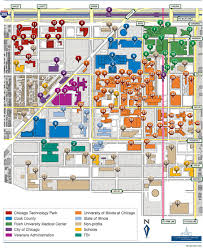Illinois State Campus Map by Map