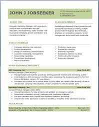 job resume template free gfyork com