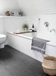 chambre de bain d馗oration rénovation salle de bains utilisant carreau ardoise deco salle de