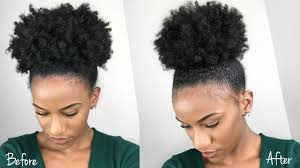 what is the best type of hair to use for a crochet weave the best sleek high puff on type 4 natural hair using gorilla snot