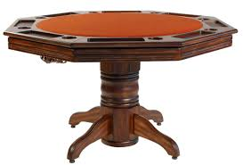 American Pool Dining Table Darafeev Riviera Poker Dining Table With Optional Bumper Pool