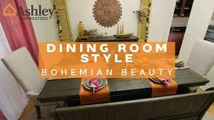 homestore ashley homestore dining room style bohemian beauty youtube igf usa