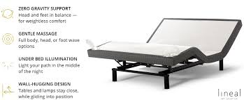 Sleep Number Beds Toronto The Lineal Adjustable Base Saatva Mattress